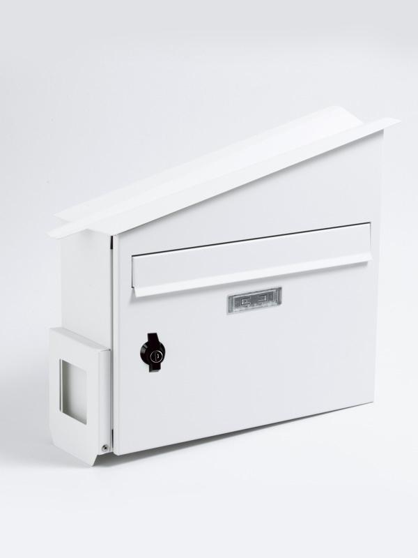 メールボックス ホワイト ハウスポスト ホワイト 郵便ポスト 壁掛けポスト
