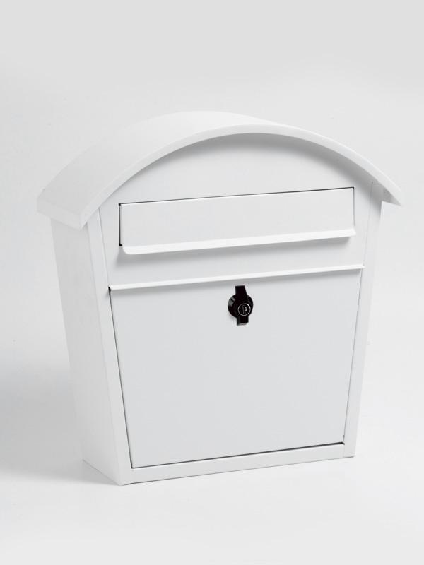 メールボックス ホワイト アーチポスト ホワイト 郵便ポスト 壁掛けポスト