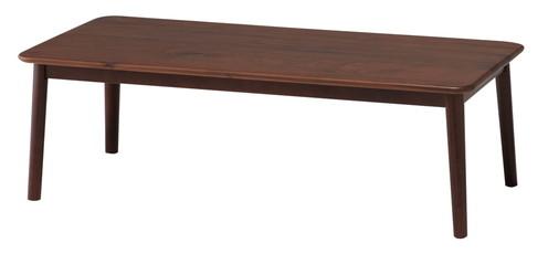 ウォールナット無垢材 リビングテーブル 幅100 スローライフ リビングテーブル