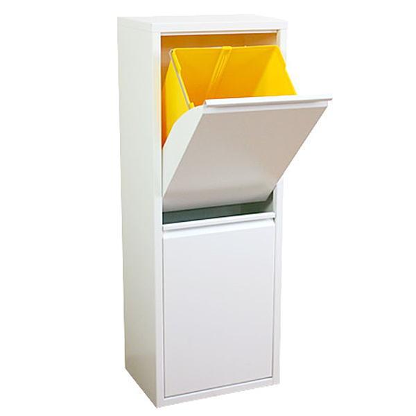【送料無料】デザイン・機能性に優れた2分別ダストボックス/ごみ箱/ゴミ箱