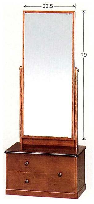 座鏡 MK5861 鏡台 一面鏡 国産 日本製 ドレッサー 化粧台 メイク台 通販 和室 和風 送料無料 最安値に挑戦
