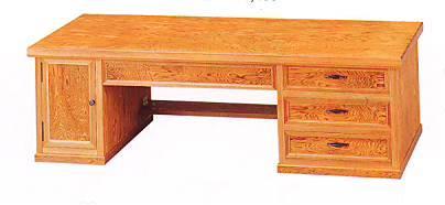 文机 MK6454 屋久杉 両袖 幅120cm 座机 書斎机 国産 日本製 ローデスク 通販 和室 和風 送料無料 最安値に挑戦