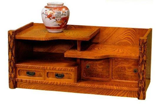 置床 MK5251 国産 日本製 置床 置き床 床の間 花台 飾棚 飾り棚 飾り台 飾台 サイドボード 和風 和室 通販 送料無料 最安値に挑戦