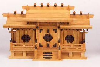 神棚 MK6108 ケヤキ 屋根違三社(中) 神棚 神具 国産 日本製 通販 和室 和風 送料無料 最安値に挑戦