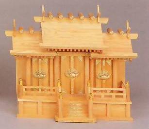 神棚 MK4550 欅並屋根違い 神棚 神具 桧 檜 国産 日本製 通販 和室 和風 送料無料 最安値に挑戦