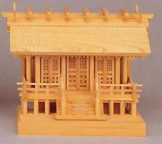 神棚 MK9008 欅彫三社(小) 格子戸 神棚 神具 国産 日本製 通販 和室 和風 送料無料 最安値に挑戦