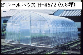 ナンエイ ビニールハウス H-4572(9.8坪) [ビニール温室