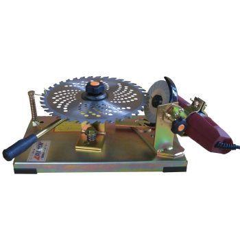 チップソー研磨機 角度調整機能付 230・255mm対応