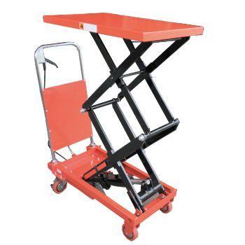 油圧式テーブル運搬車 150kg 【高上昇タイプ】
