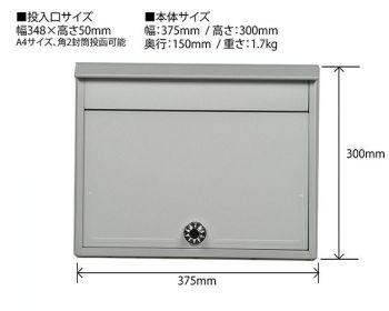 ケイ・ジー・ワイ工業 セレクトカラーポスト SG-5000L シルバー [Tools & Hardware]