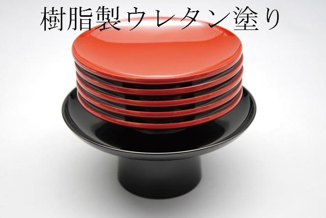 茶事 お正月 雛祭り お祝の席に ショップ 日本製 茶器 茶道具 盃台セット 引盃5客 新品 ウレタン塗 懐石道具 供え 樹脂製