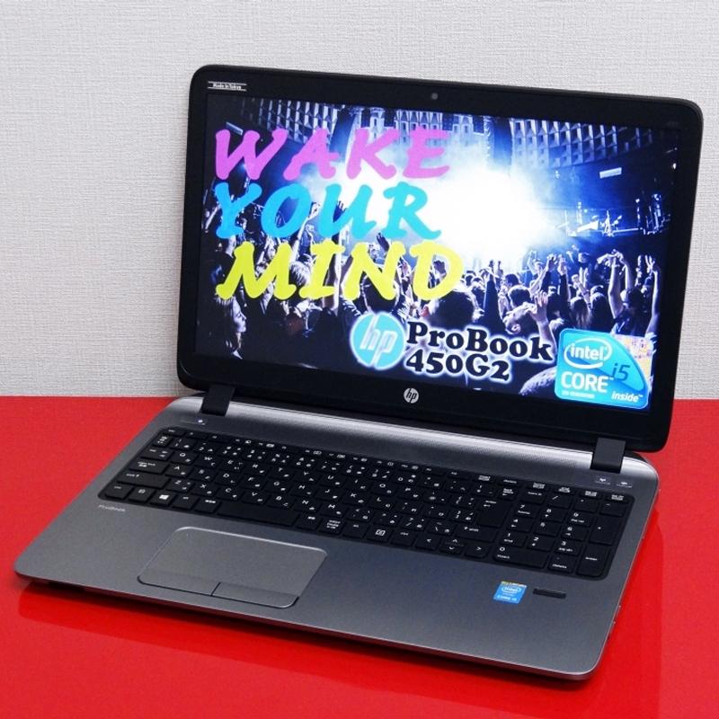 【中古】Prime Reborns HP ProBook 450G2 第5世代 Core i5 CPU 高速新品SSD搭載 15.6型 A4ノートパソコン Windows10Pro テンキー WPS Office付属