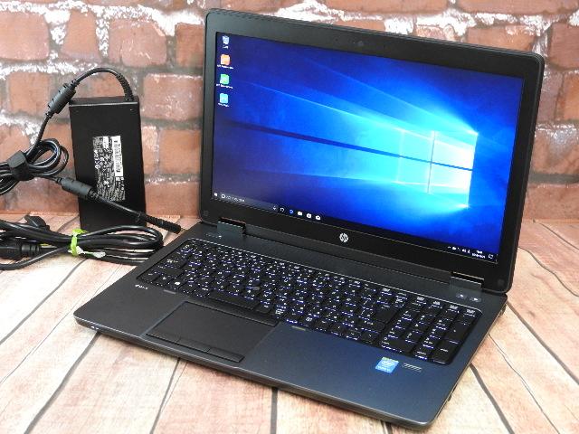 【中古】 Aランク HP ZBook15 G2 第四世代上位i7搭載 Nvidia Windows10