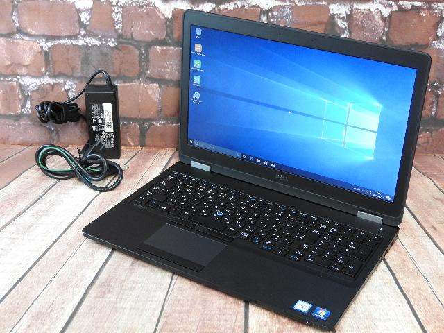 【中古】 Aランク Dell Latitude E5570 第六世代 i5搭載 15インチノート Win10
