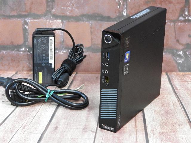 【中古】 Aランク Lenovo ThinkCentre M93P TINY 第四世代 i5搭載 極小デスクトップPC 4G 500G