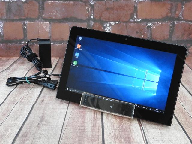 【中古】 Aランク NEC VersaPro Vk11C/S-K タブレットPC SSD128G換装 Windows10 11インチ