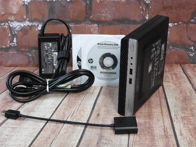 【中古】 Aランク ProDesk 400G3 DM 第6世代 i3 SSD搭載 スモールデスクトップ Win10