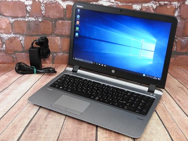 【中古】 Aランク HP ProBook 450G3 第六世代 i7 SSD256GB搭載 国産ビジネスモデル Win10