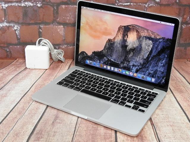 【中古】 Aランク Apple MacbookPro Early 2015 i7 SSD256G メモリ16G Retina搭載 13.3インチ 液晶新品
