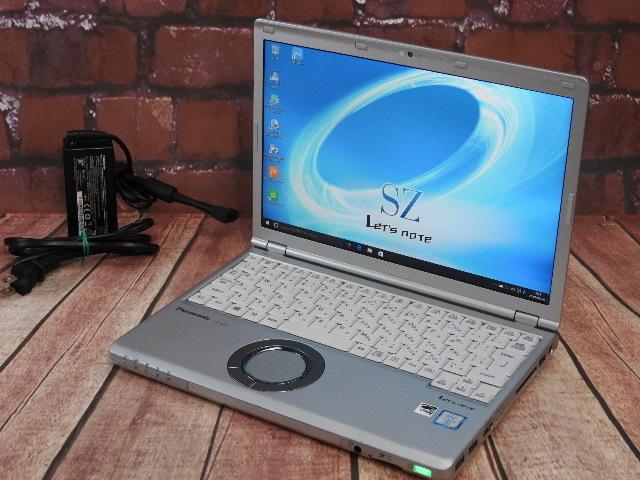 【中古】 Bランク Panasonic Lets CF-SZ5ADYMS 第六世代i5 SSD256G搭載 稼働5170時間 Windows7/10
