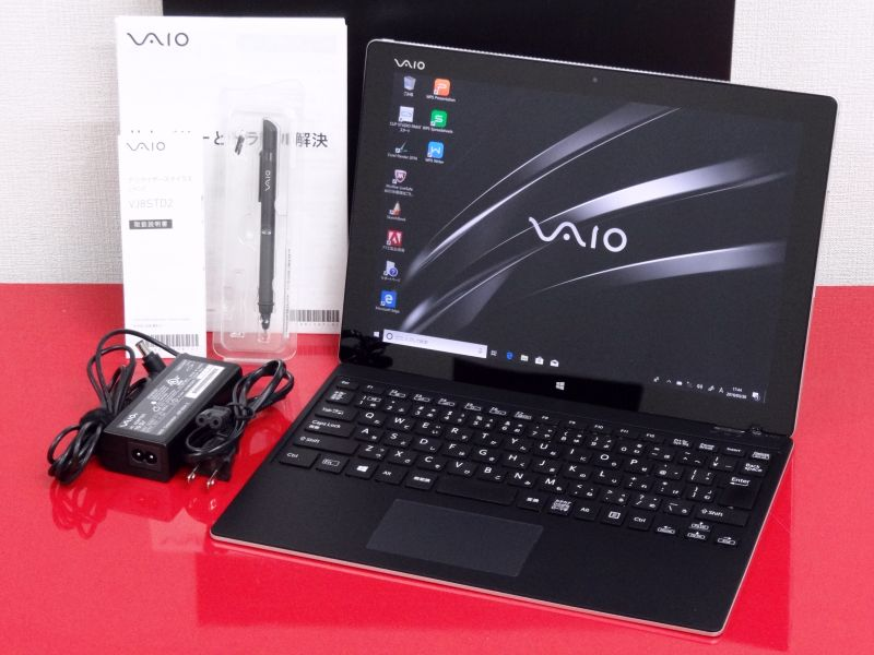 【中古】Aランク VAIO Z Canvas VJZ12AD11N Core i7 4770HQ 16G SSD512GB Windows10Pro