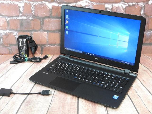 【中古】 Aランク NEC VersaPro VK22T/F-N 第5世代 i5搭載 15インチノート Win10