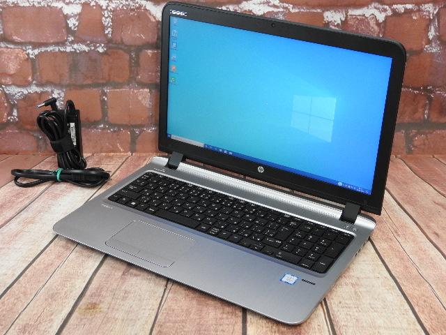 【中古】 Aランク HP ProBook 450G3 第六世代 i5 フルHD液晶搭載 SSD換装 国産ビジネスモデル