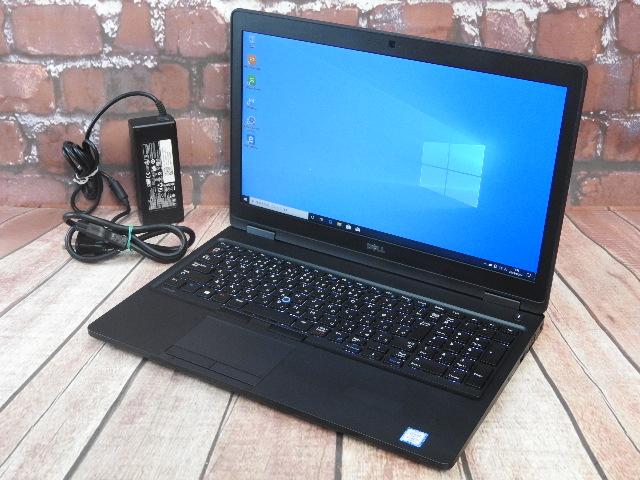【中古】 Aランク Dell Latitude 5580 第6世代 i5 6440HQ SSD+HDD搭載 15インチノート