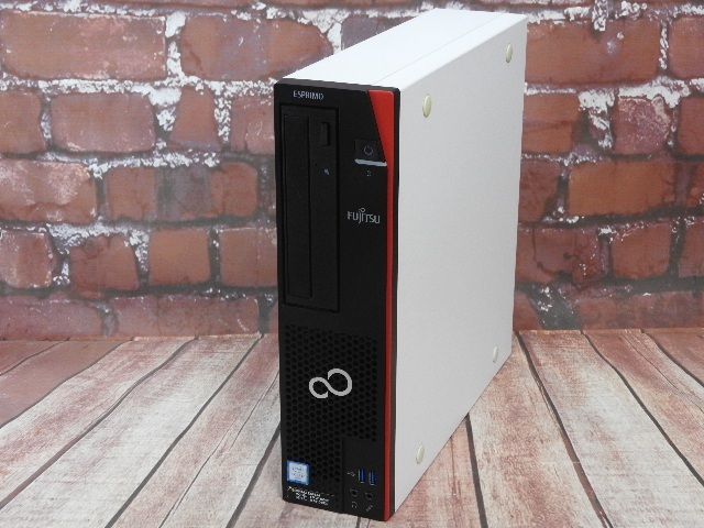 【中古】 Aランク 富士通 ESPRIMO D586/M 第六世代 i7 6700搭載 メモリ16G Win10 デスクトップ