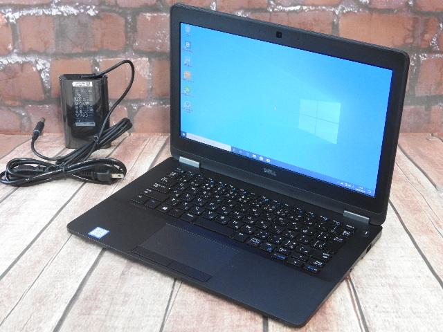 【中古】 Aランク Dell Latitude E7270 第六世代 i5 SSD256G搭載 12インチモバイル