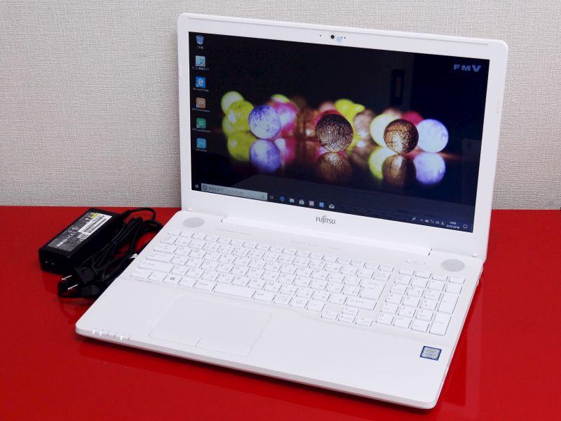 【中古】Sランク 新品大容量メモリ16G SSD1TB搭載 AH50/C3 第7世代Core i7 7700HQ DVDS Windows10