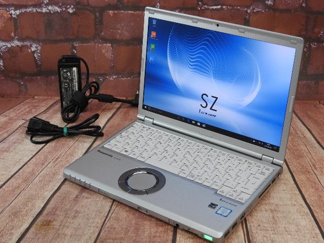 【中古】 Bランク Panasonic Lets CF-SZ5ADCVS 第六世代 i5搭載 稼働5420時間 Win10