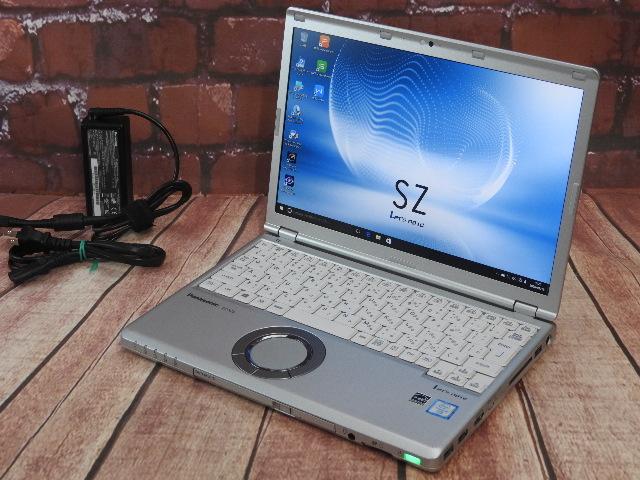 【中古】 Bランク Panasonic Lets CF-SZ5PDC5S 第六世代 i5 稼働3100時間 Windows10
