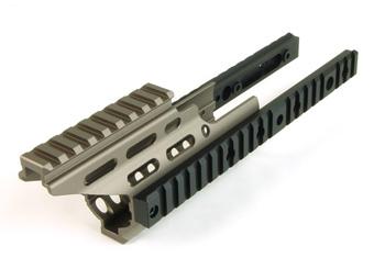 ライラクス・ニトロヴォイス・SCAR-Lハンドガードブースターダークアース(DE)<レターパックでの発送です>