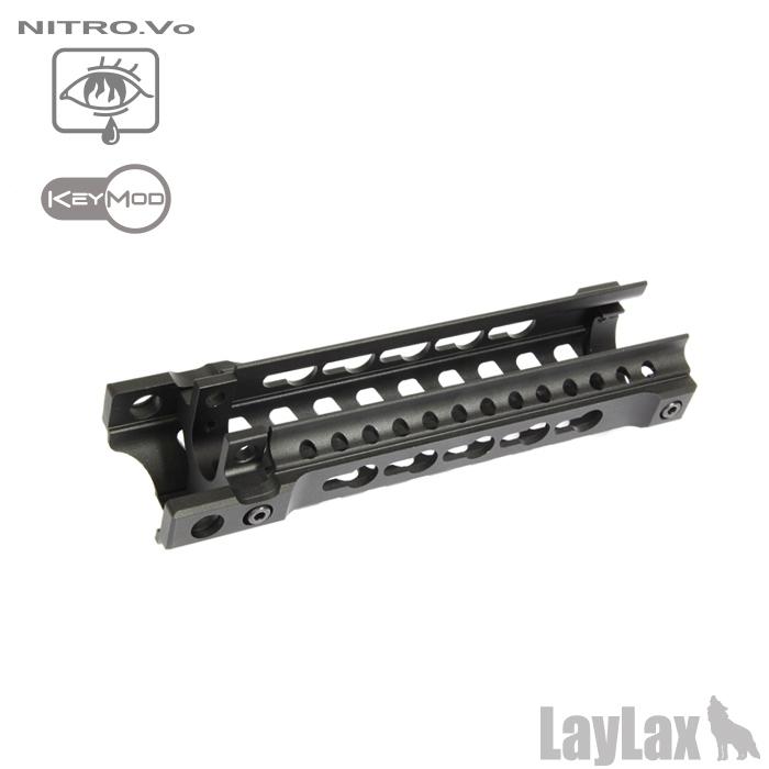 ライラクス/ニトロヴォイス/東京マルイ MP5用 Keymod キーモッドハンドガード<レターパックでの発送です>