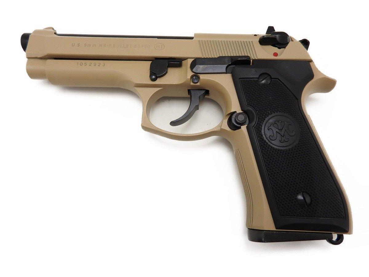 あす楽対応 マルシン ☆送料無料☆ 正規逆輸入品 当日発送可能 M9 SAND 発火モデルガン完成品 ABS
