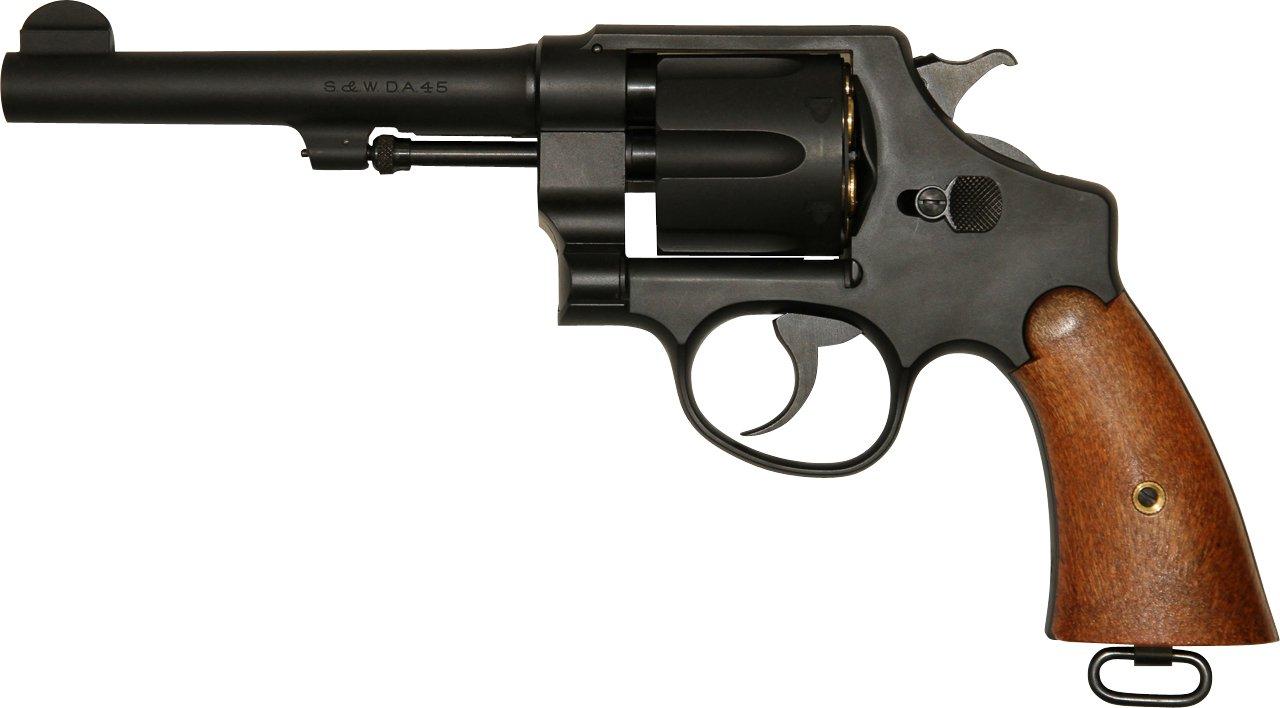 あす楽対応/タナカ S&W M1917 CAL.45USミリタリー 5.5インチ HW ガスリボルバー