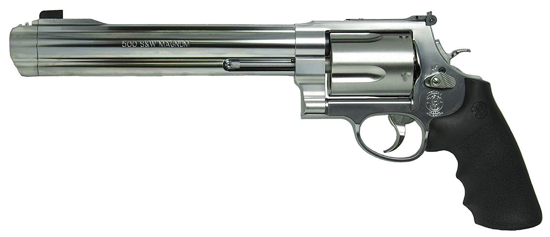 あす楽対応/タナカ S&W M500 8-3/8インチ ステンレス Ver.2 ガスリボルバー