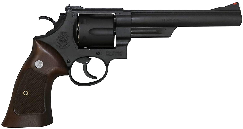 あす楽対応/マルシン M29 6.5インチ ブラック ヘビーウエイト(BKHW) ハーフチェッカー木製グリップ仕様 ガスリボルバー 4920136059450