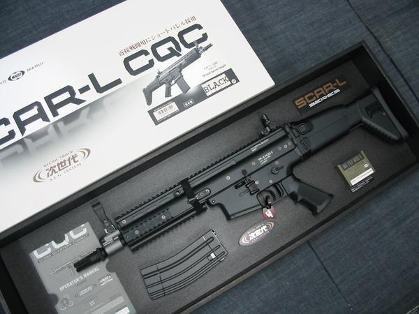 あす楽対応!東京マルイ・次世代電動ガン・SCAR-L CQC/スカーLブラック(BK)(当日12時までのご注文で明日到着!日曜火曜除く・地域によります)