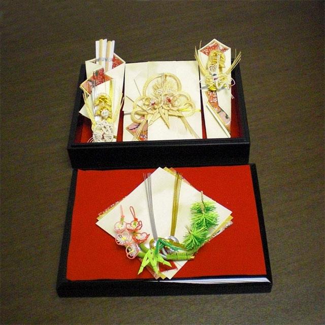結納BOXセット 鉄仙 (指輪飾り付)