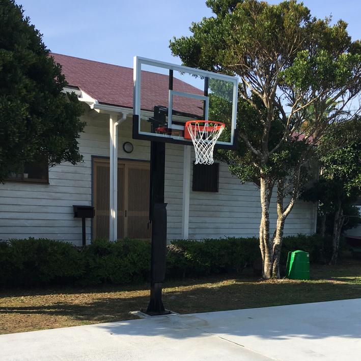 埋込式 トーモンスポーツオリジナルバスケットゴール1
