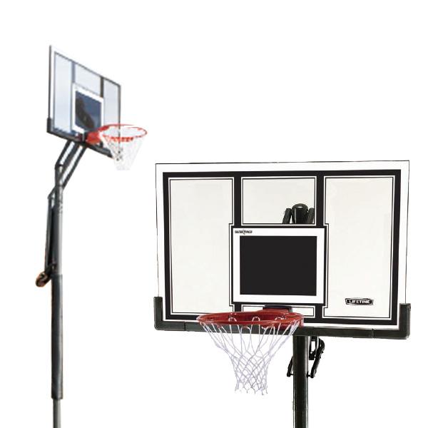 【 LIFE TIME 】埋込式バスケットゴール!:バスケットストリートゴール[埋込式](LT-71525)