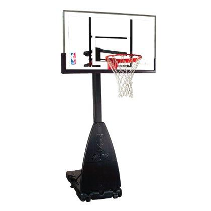 送料無料【NBA公認の高品質】SPALDING:プラチナム ポータブル バスケットゴール(68490JP)