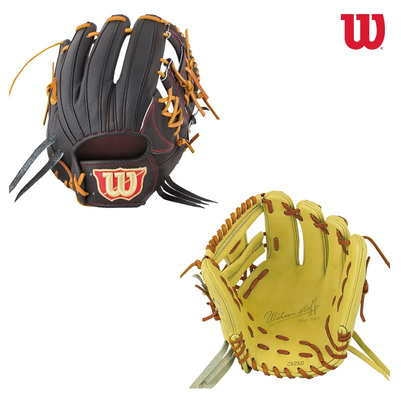 Wilson ウイルソン Wilson Staff DUAL 硬式グラブ 内野手用 展示会限定カラー WTAHWDD5V