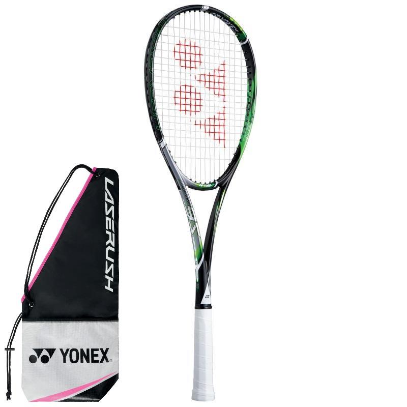 YONEX ソフトテニスラケット LASERUSH 9S レーザーラッシュ9S LR9S 133:ブライトグリーン 前衛タイプ