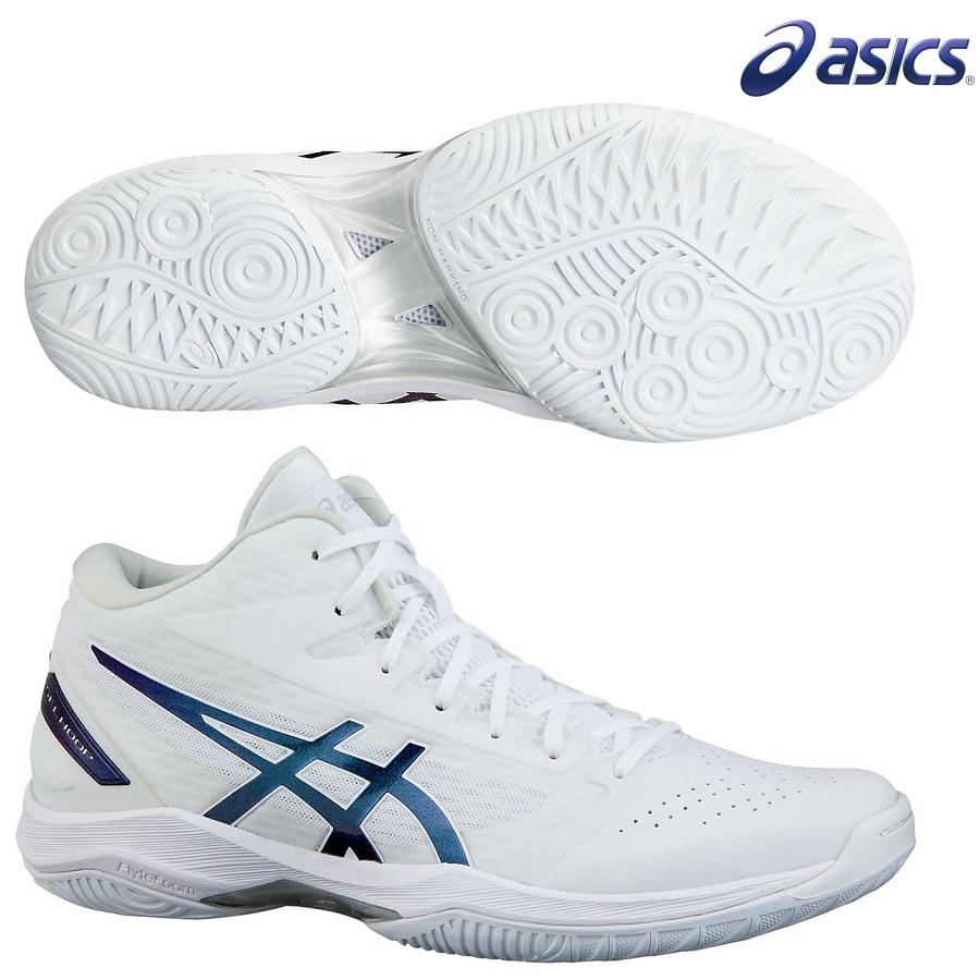 asics アシックス バスケットシューズ GELHOOP V11 限定カラー(1061A015)120:WHITE/PRB