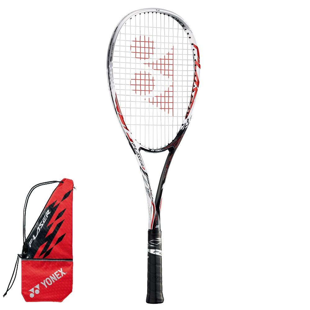 前衛タイプ YONEX ソフトテニスラケット 買い取り F-LASER エフレーザー7V 001:レッド 業界No.1 FLR7V 7V