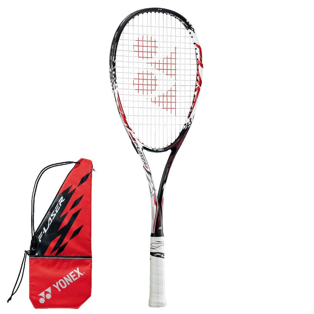 YONEX ソフトテニスラケット F-LASER 7S エフレーザー7S(FLR7S)001:レッド 後衛タイプ