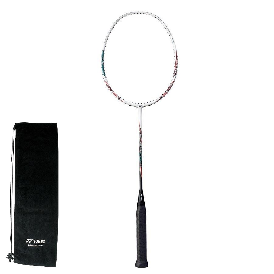 YONEX バドミントンラケット NANORAY 450 LIGHT(ナノレイ450ライト)NR450LT 114:ホワイト/レッド